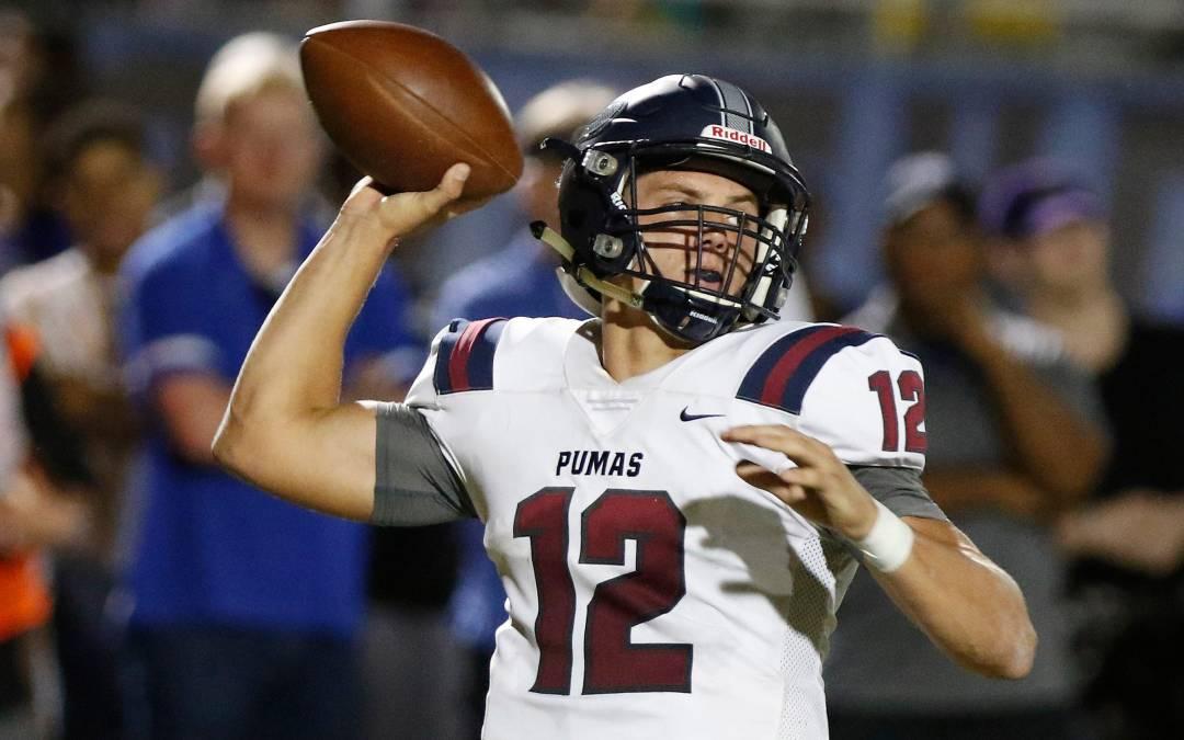 Adrian Fleming voted Week 7 Arizona high school football top performer