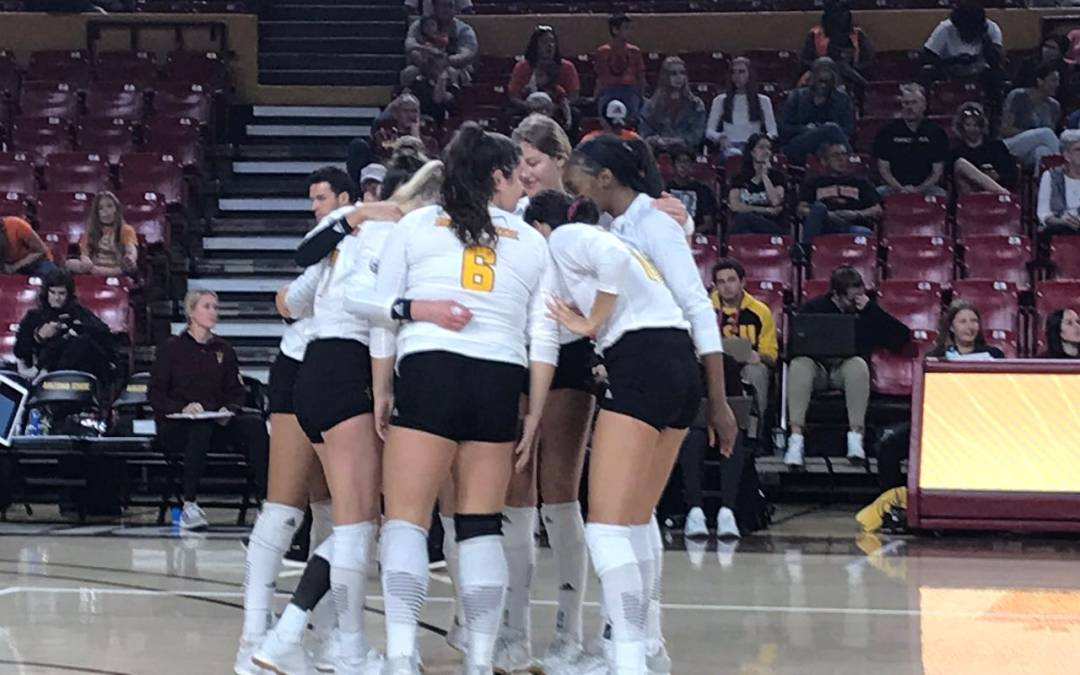 No. 20 Cal volleyball holds off ASU in five-set match