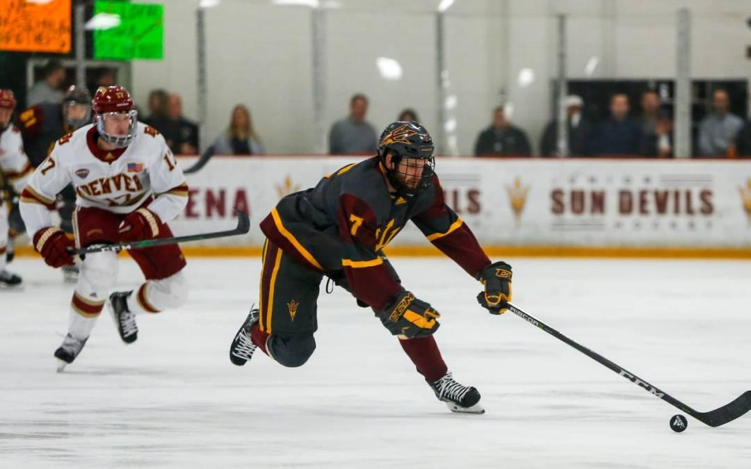 No. 18 Michigan State hockey edges No. 16 ASU in overtime