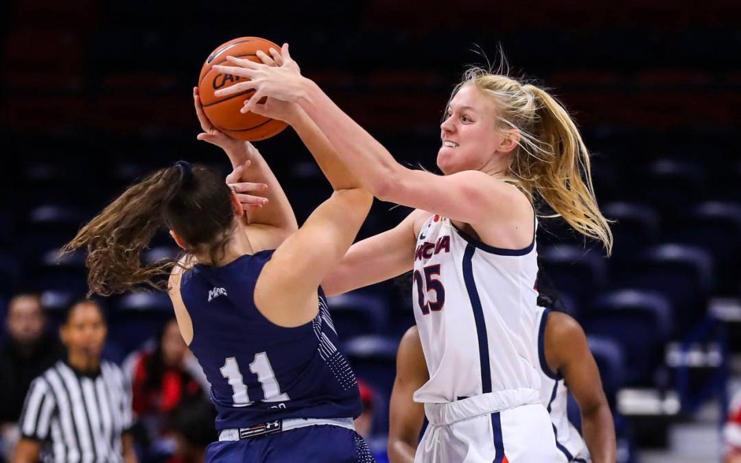 Arizona Wildcats women's basketball clobbers Monmouth