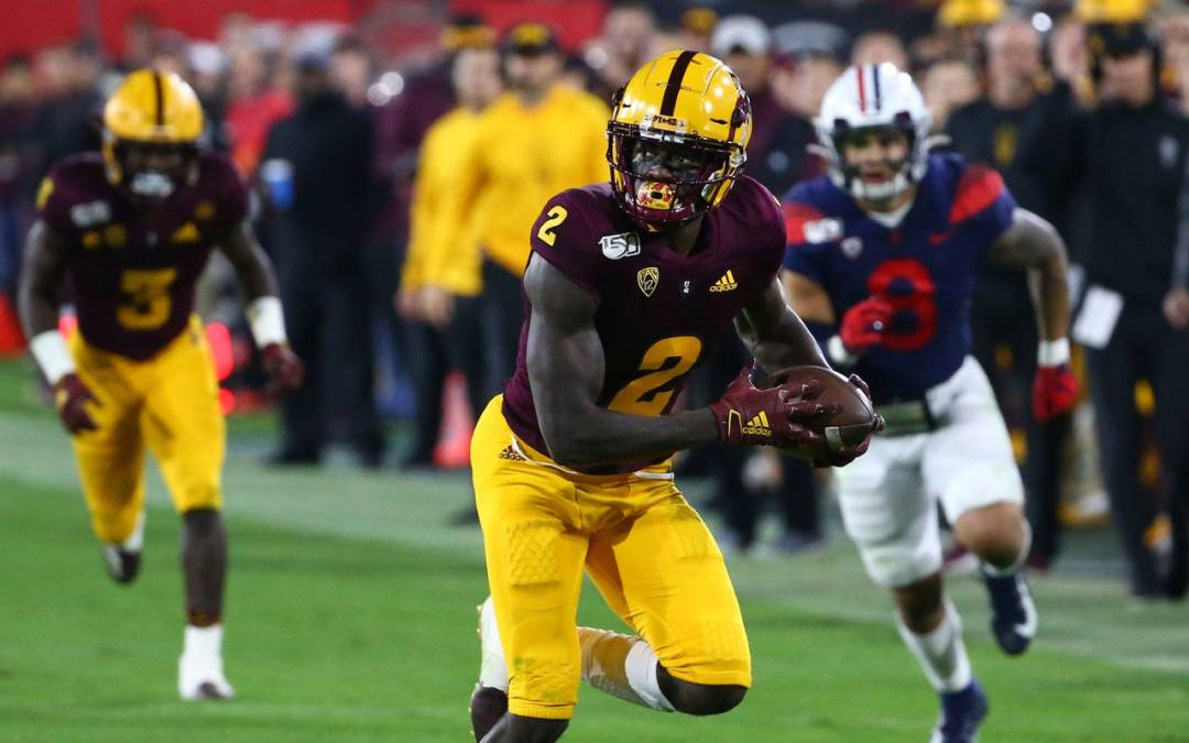 Arizona State wide receiver's stock soars