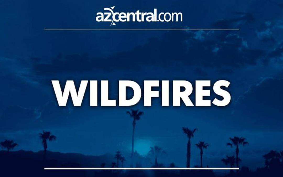 Lightning starts wildfire west of Tucson, burns 1,100 acres