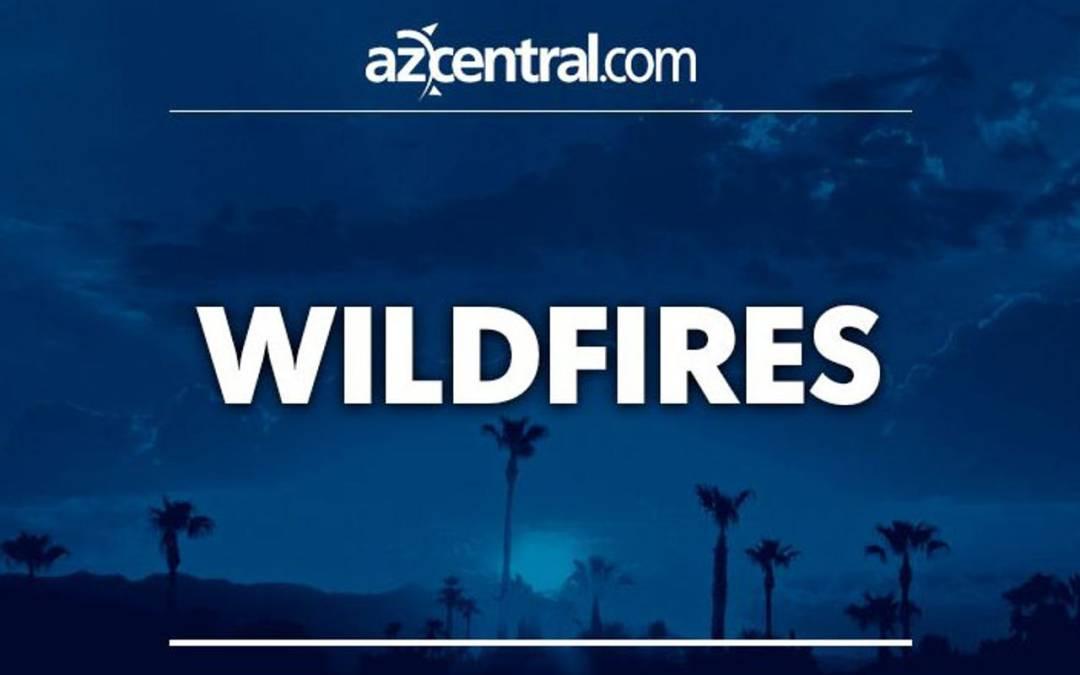 Lightning starts wildfire west of Tucson, burns 1,100 acres