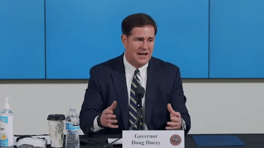Gov. Ducey on delaying the start of schools