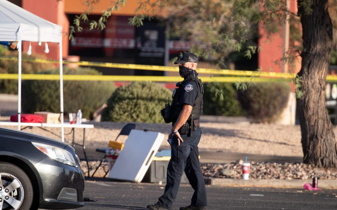 Mesa PD ask for public's help in ID'ing drive-by shooter that wounded 7