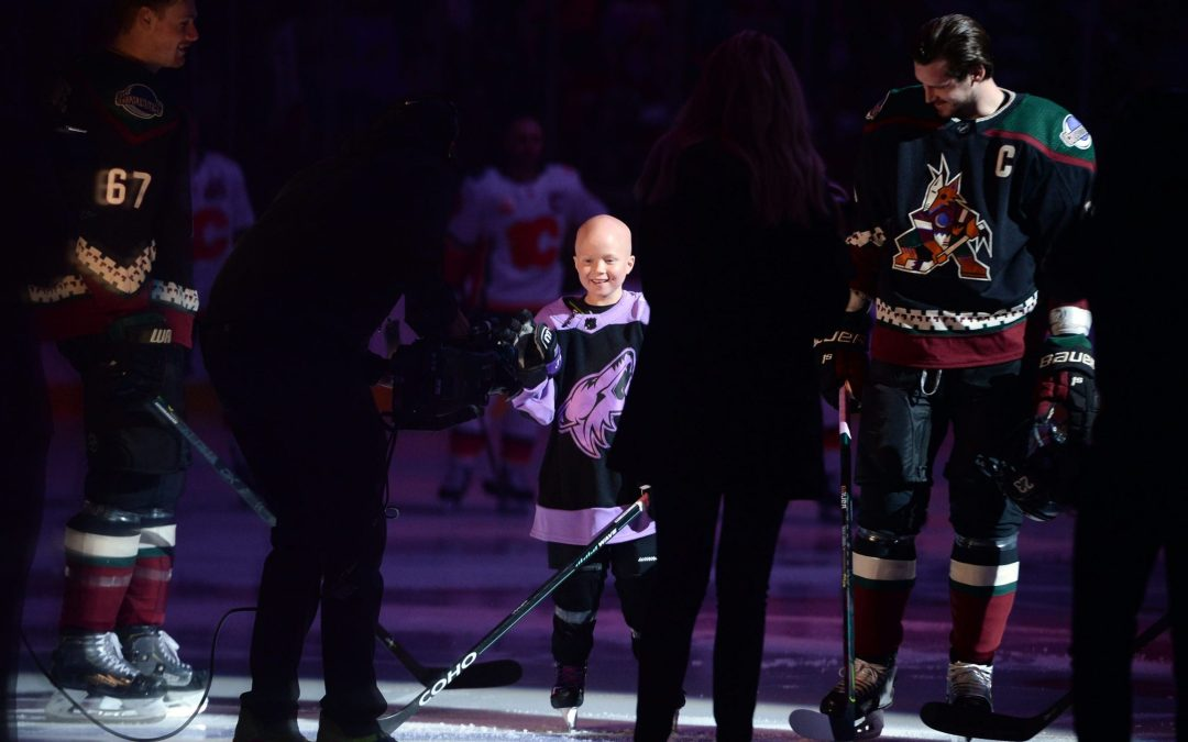 Leighton Accardo, an inspiration to Arizona Coyotes, dies of cancer