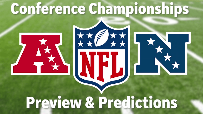 AFC and NFC Championship games preview and predictions