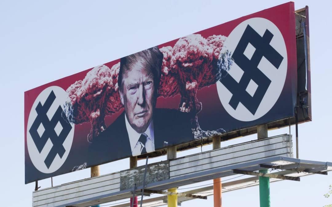 Anti-Trump billboard in downtown Phoenix is being replaced