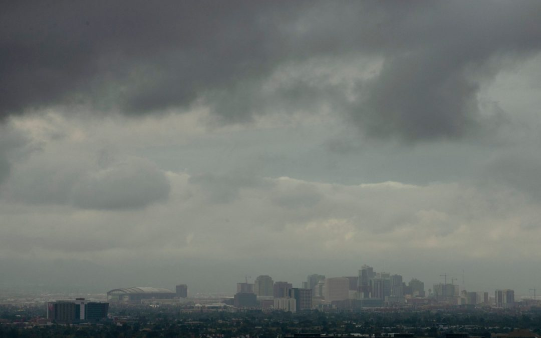 Possible rain expected in Phoenix area after warmer weekend temperatures