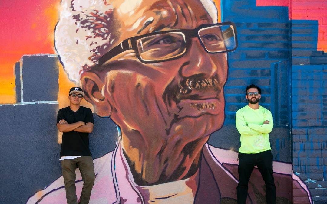 Gallery: New mural honoring late Phoenix Councilmember Calvin Goode in downtown Phoenix