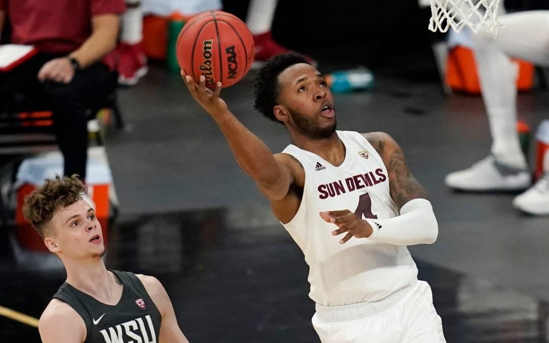 ASU basketball standout Kimani Lawrence to return for another season