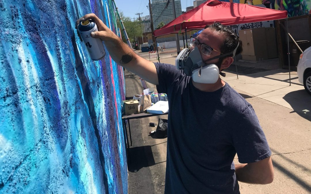 Phoenix mural, 'The Prayer of St. Francis,' is gone. Here's what next