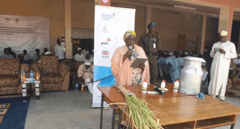 Commissioning of the Ladugga Milk Processing Facility