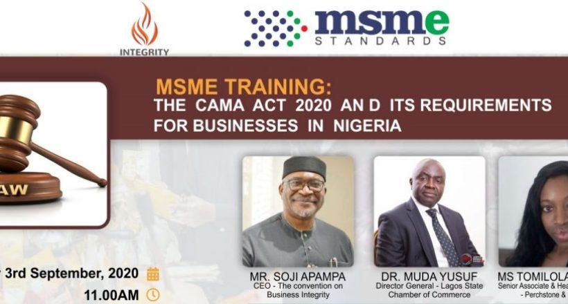 CAMA Act Training Banner