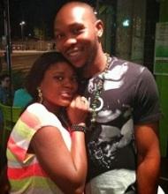 Seun Kuti and girlfriend, Yetunde