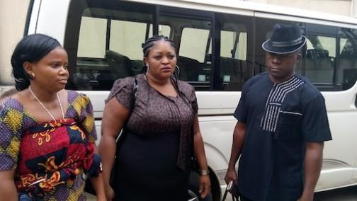 The accused: Patience Owerema, Nwakoba N.Francisca and Okafor Kingsley