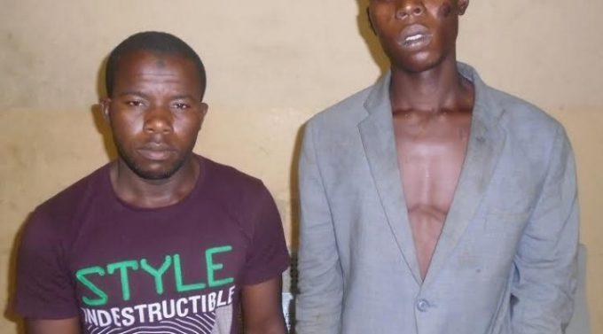 guys arrested