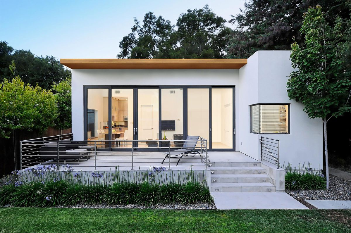 A new ADU construction completed in Sunnyvale, CA