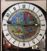 5-8 Zegar średniowieczny motyw 4 pory roku