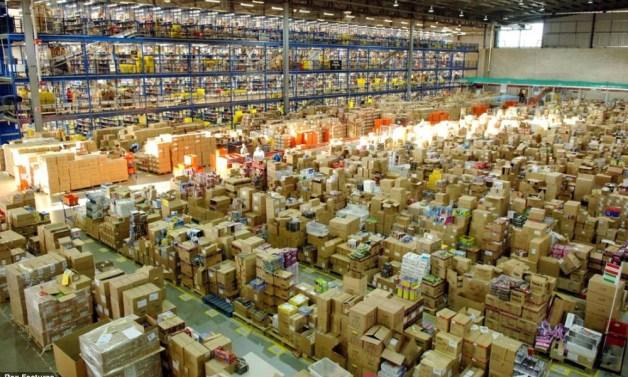 Estoque da Amazon - fonte: Hypeness