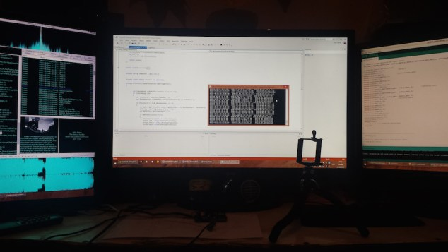 freeIMU Arduino Visual Studio