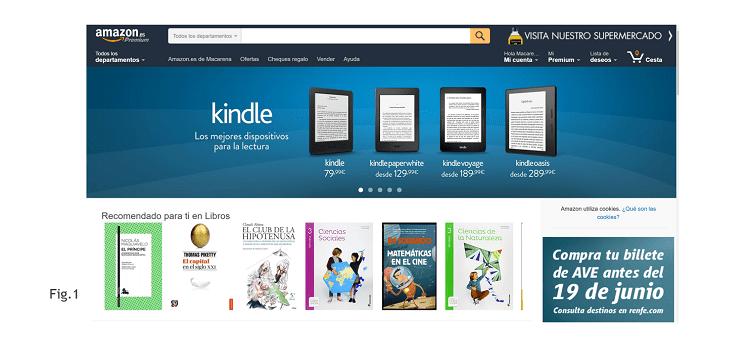 Sistemas Recomendación Amazon