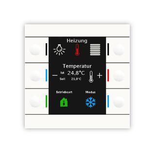 MDT Push button Smart 86
