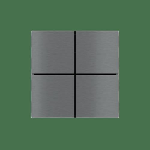 EKINEX KNX tlačítko FF, hliník bez rámečku