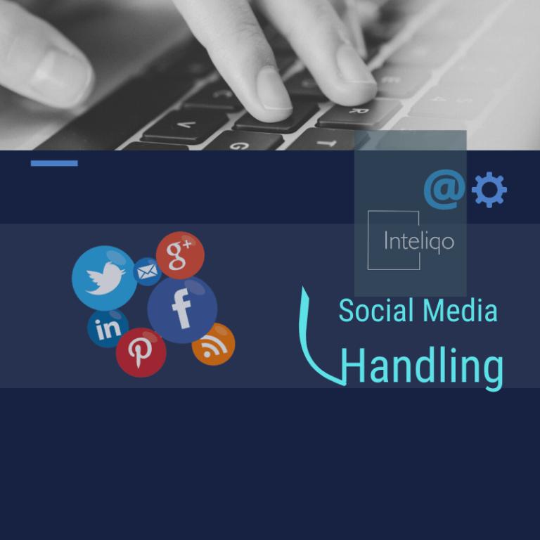 Social media handling- inteliqo