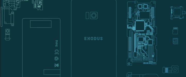 Exodus, el primer teléfono impulsado por Blockchain