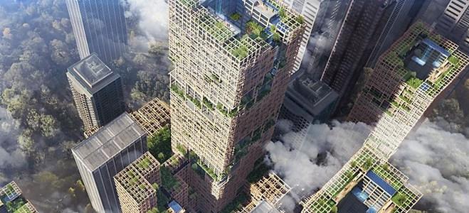 Tokio tendría el rascacielos de madera más grande del mundo