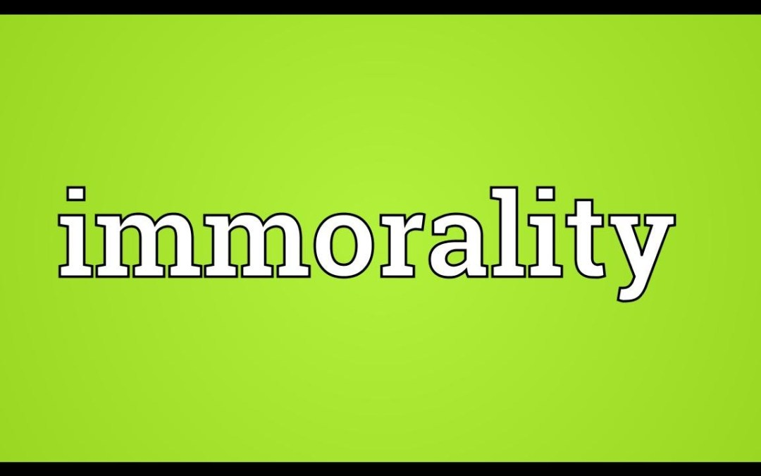 How Islam Dealt with Immorality