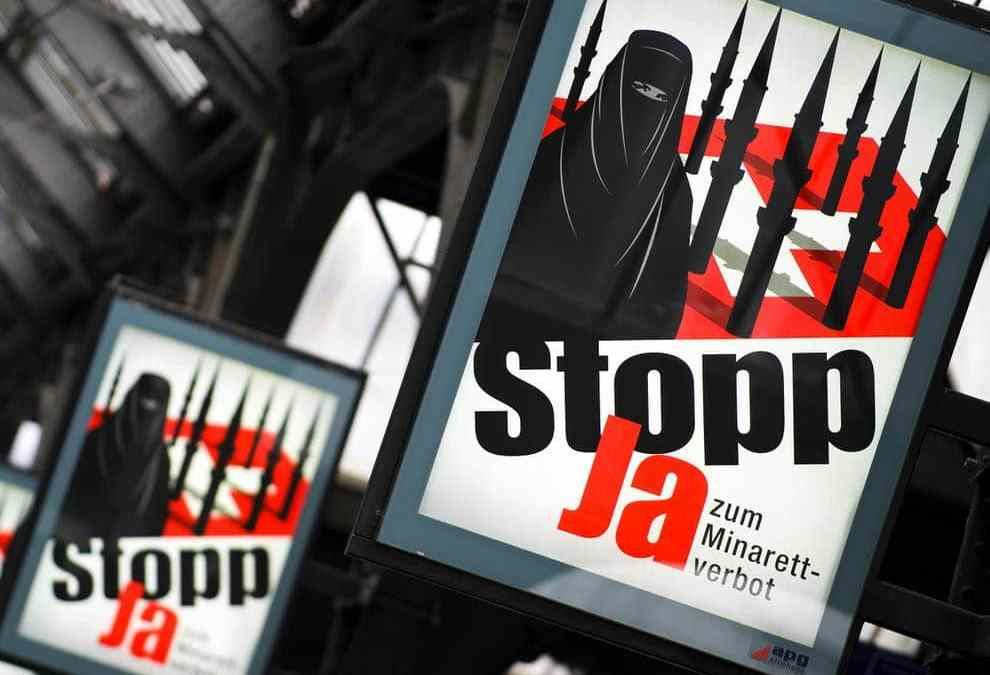 Organize Against The Ban of Niqab In Switzerland Before They Come For The Hijab