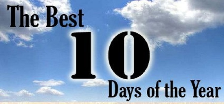Ten Blessed Days: Don't Miss