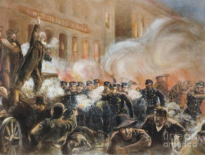 the haymarket riots 1920s