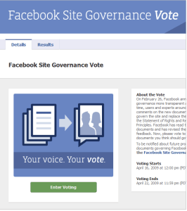 Screenshot - Facebook TOS Voting