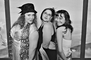 Blogger Prom - @BusyBethF, Melissa, and Me