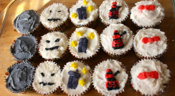 Doctor Who 50th Anniversary: Cupcake Project