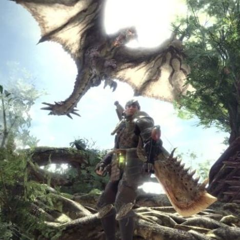 I'm excited for Monster Hunter World because my friends are. That's okay.