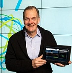 IBM's Mike Rhodin with Watson