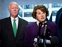 Dianne Feinstein (right) and Saxby Chambliss