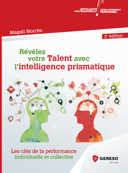 Couverture livre *Intelligence Prismatique de Magali Norrito pour article sur Intelligence Prismatique
