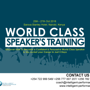 World Class Speakers' Training Nairobi