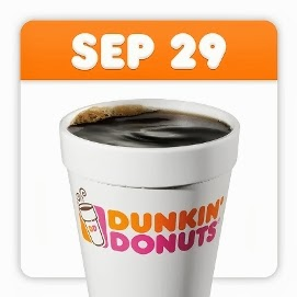 Freebies for National Coffee Day