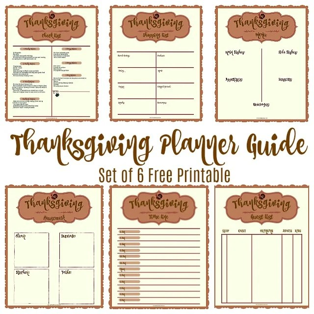 image regarding Thanksgiving Planner Printable called Annoyance Considerably less Thanksgiving Coming up with Specialist How in the direction of Laptop computer