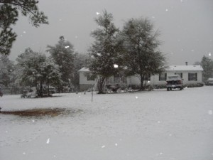 Snow Feb. 2010 our house