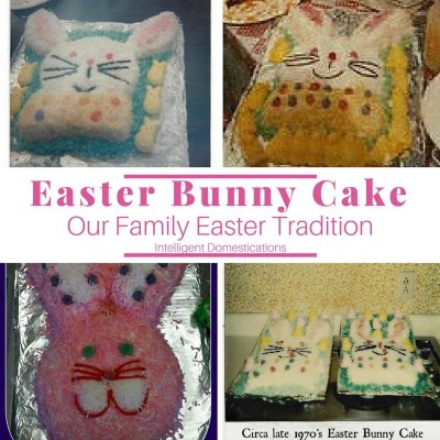 The Easter Bunny Cake Tradition