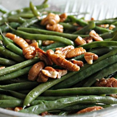 Microwave Green Beans
