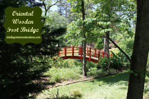 Oriental Wooden Foot Bridge.intelligentdomestications.com