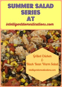 Summer Salad Series at Intelligentdomestications.com